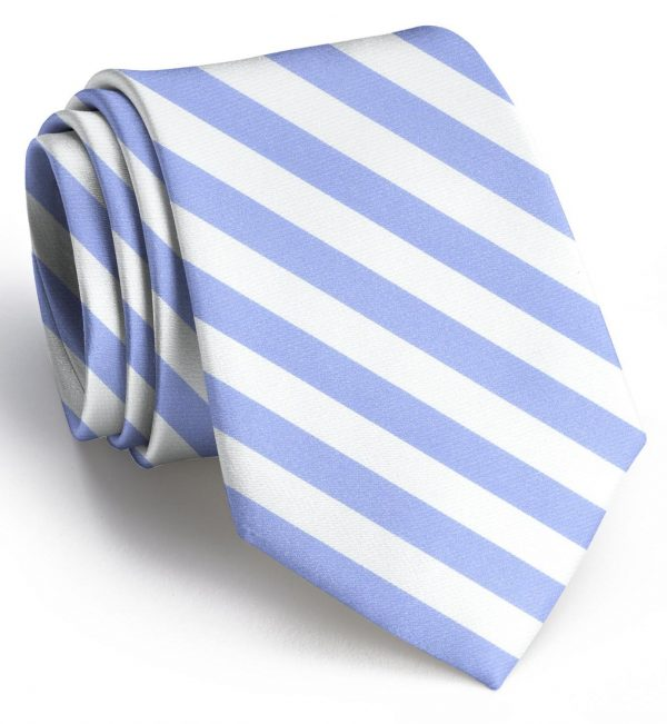 Newman: Tie - White/Blue