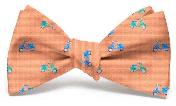 Vespas: Bow - Orange