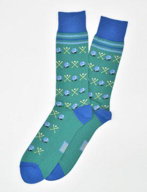 Batter Up: Socks - Green