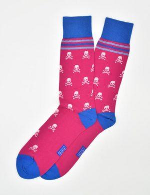 The Bonesmen: Socks - Coral