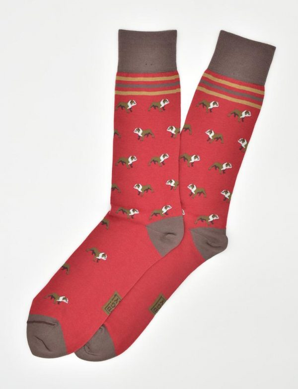 Bulldog Bonanza: Socks - Red