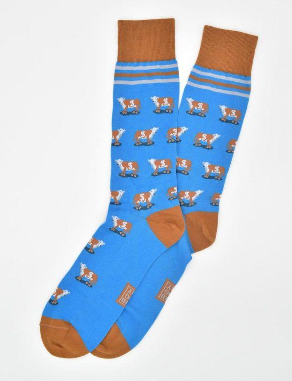 Cash Cow: Socks - Blue