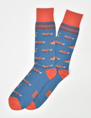 Fox & Hound: Socks - Blue