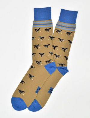 Lucky Labs: Socks - Tan