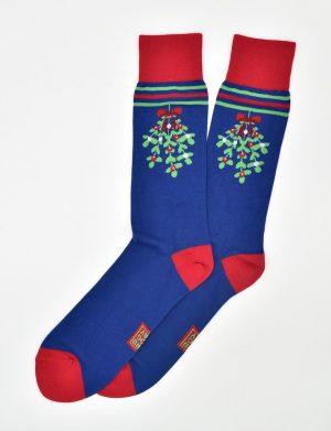Mistle-Toes: Socks - Blue