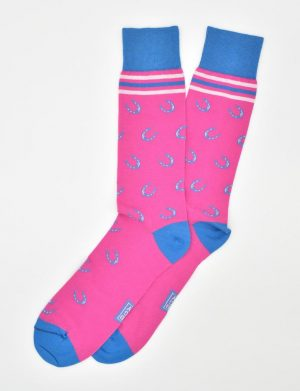 Photo Finish: Socks - Fuchsia