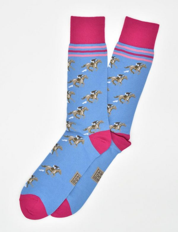Triple Crown: Socks - Blue