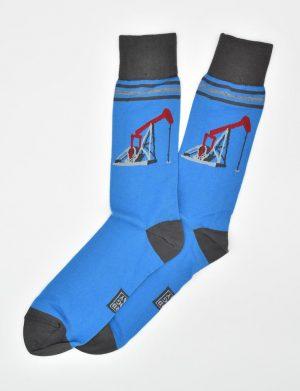 Black Gold: Socks - Light Blue