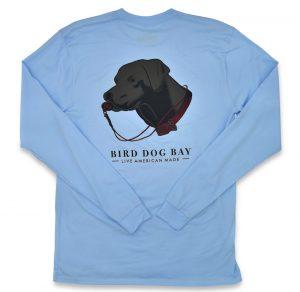 Lab Results: Long Sleeve T-Shirt - Black Lab on Carolina