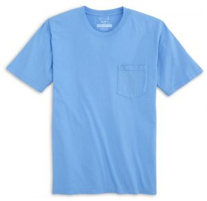 High Tide: Short Sleeve T-Shirt - Azure