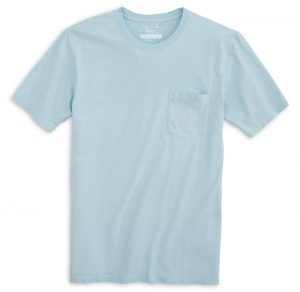 High Tide: Short Sleeve T-Shirt - Chambray