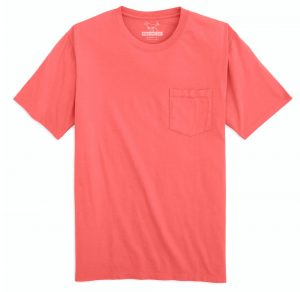 High Tide: Short Sleeve T-Shirt - Coral