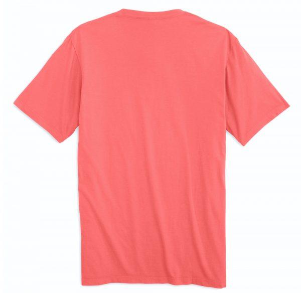 High Tide: Short Sleeve T-Shirt - Coral