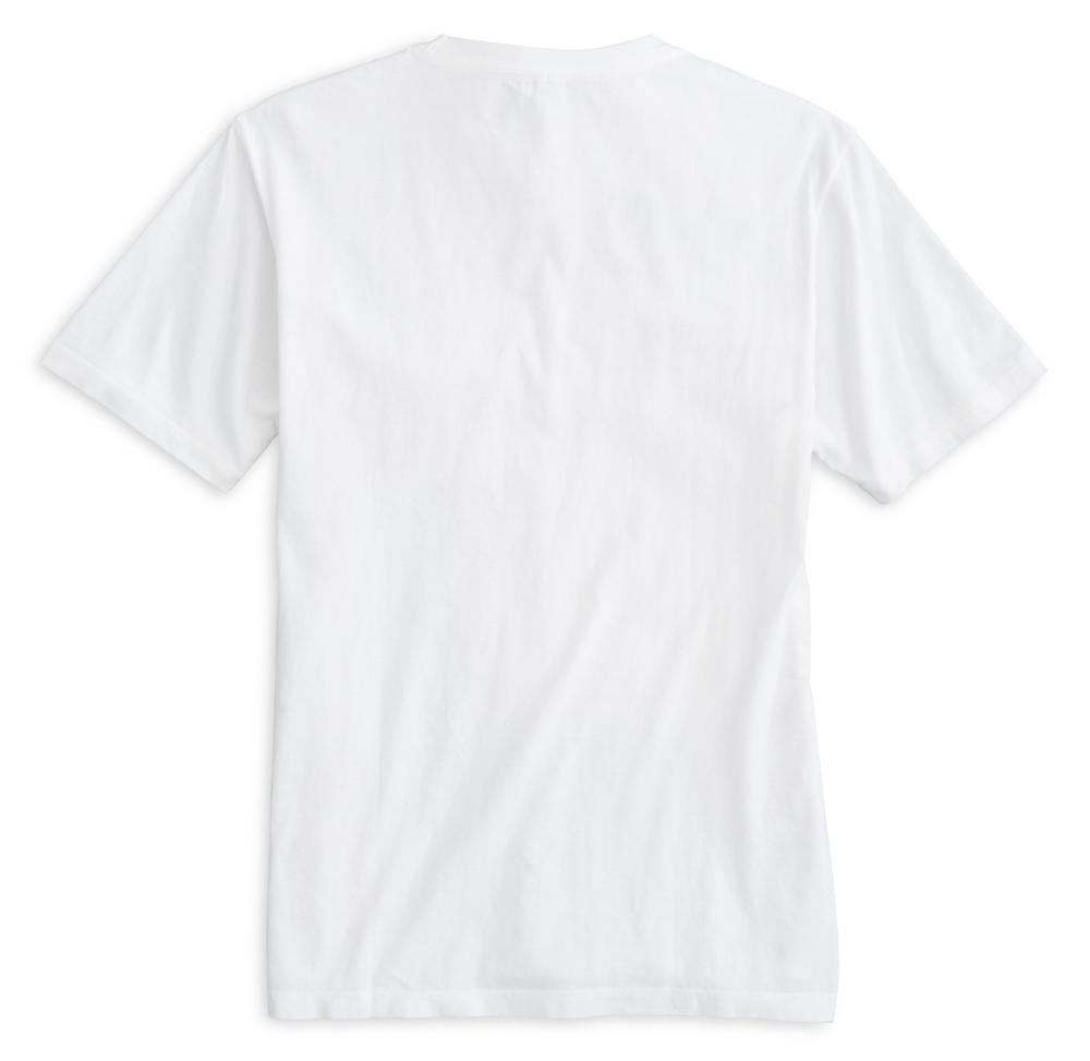 High Tide: Short Sleeve T-Shirt - White