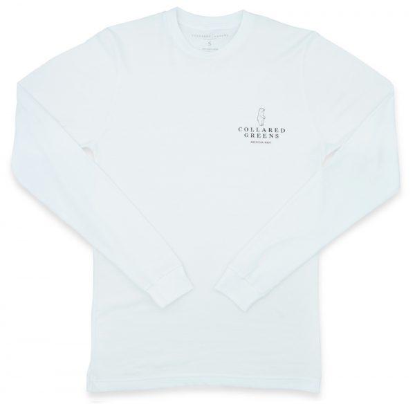 Weekend Skiff: Long Sleeve T-Shirt - White