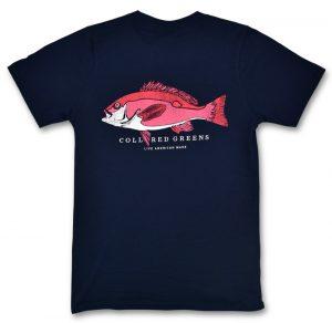 Snapper: Short Sleeve T-Shirt - Navy