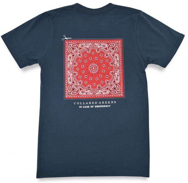 In Case of Emergency: Short Sleeve T-Shirt -Steel Blue