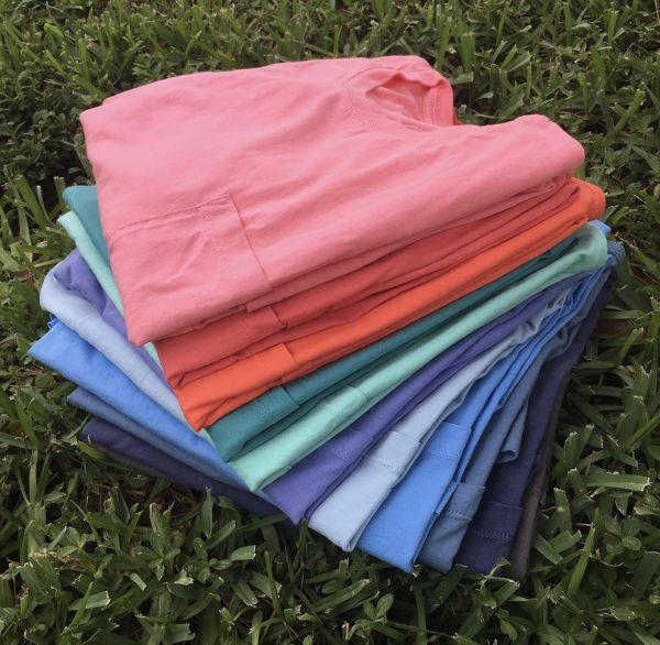High Tide: Short Sleeve T-Shirt - Chambray