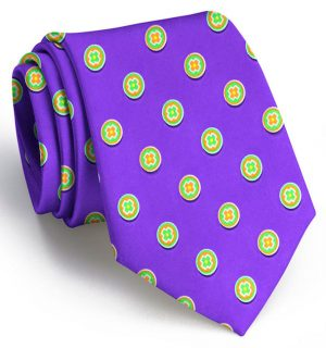 Medallion: Tie - Purple