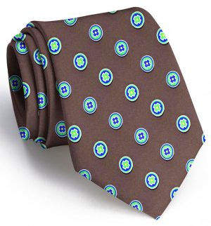 Medallion: Tie - Brown