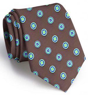 Medallion: Tie - Brown