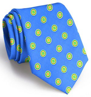 Medallion: Tie - Cool Blue