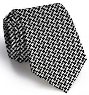 Houndstooth: Tie - Black/White