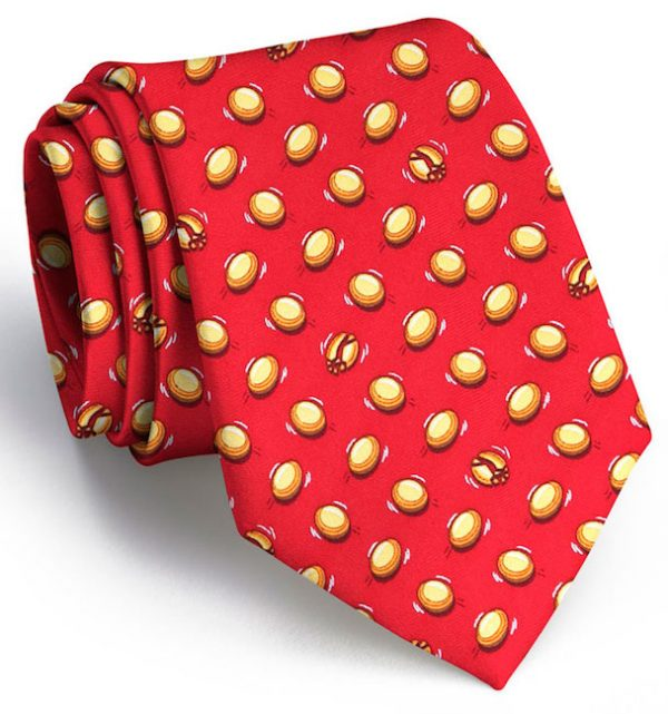 Clay Day: Tie - Red