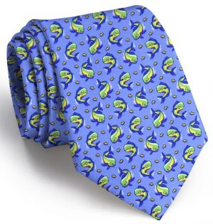 Mahi Madness: Tie - Light Blue