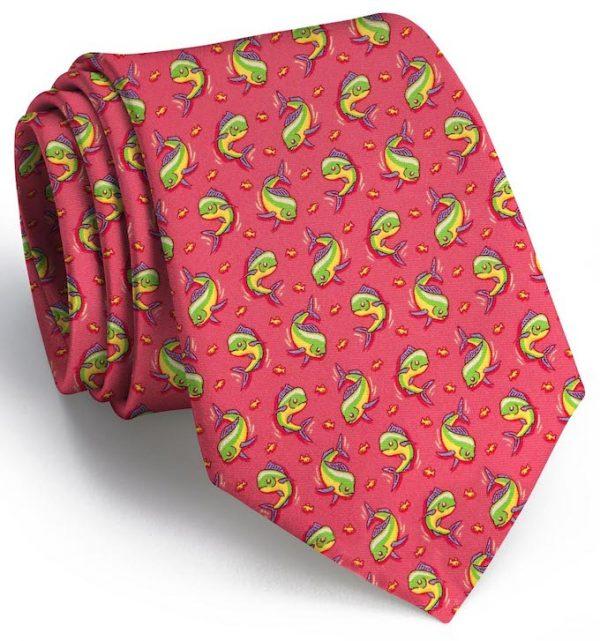 Mahi Madness: Tie - Fuchsia