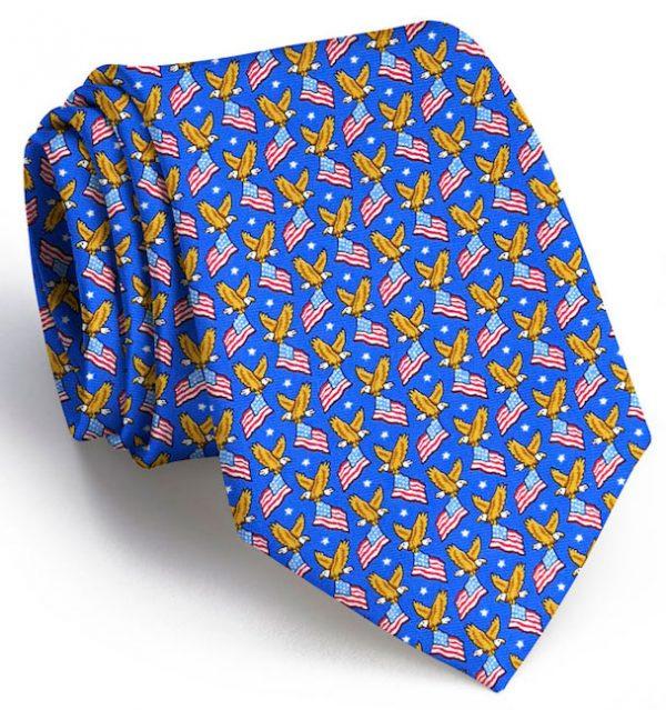 American Eagle: Tie - Mid Blue