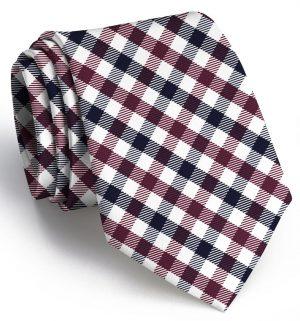 Collegiate Quad: Tie - Garnet/Black