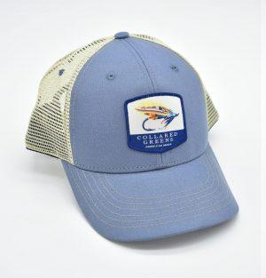 Looking Fly: Trucker Cap - Shoal Blue