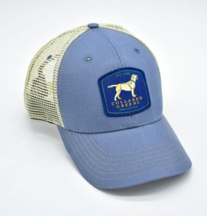 Yellow Lab: Trucker Cap - Shoal Blue