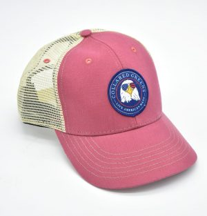 Bald Eagle: Trucker Cap - Port Side Red