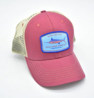 American Marlin: Trucker Cap - Port Side Red