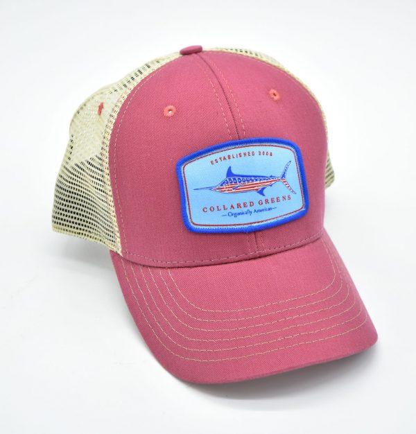 American Marlin: Trucker Cap - Port Side Red