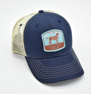 Chocolate Lab: Trucker Cap - Navy