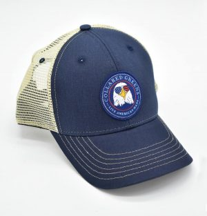 Bald Eagle: Trucker Cap - Navy