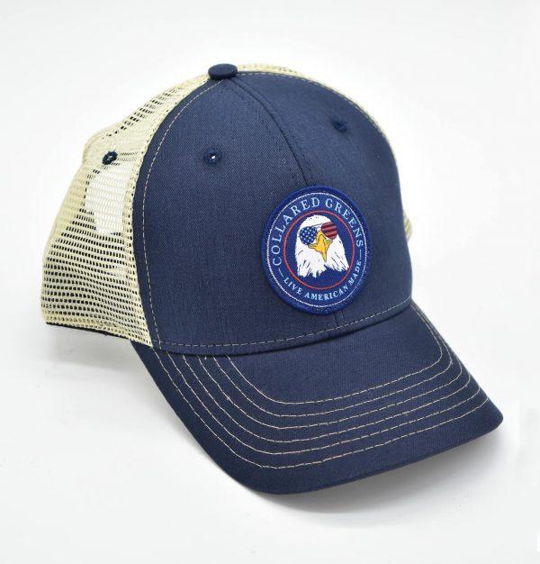 Bald Eagle: Trucker Cap - Navy
