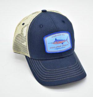 American Marlin: Trucker Cap - Navy