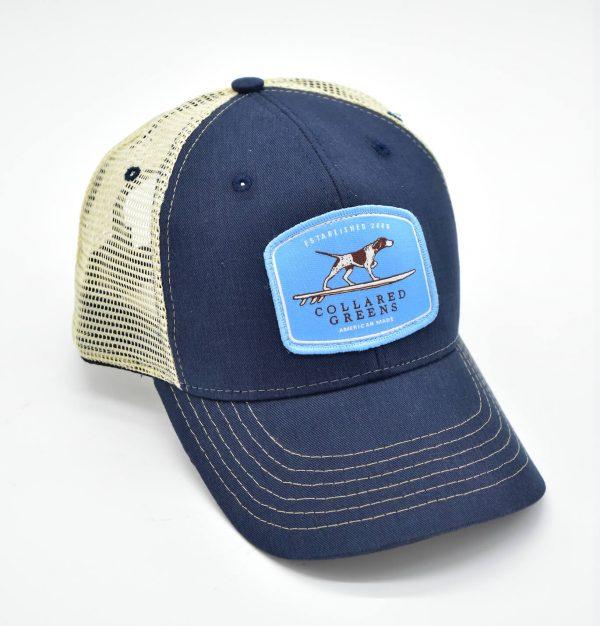 Pointer Surfer: Trucker Cap - Navy