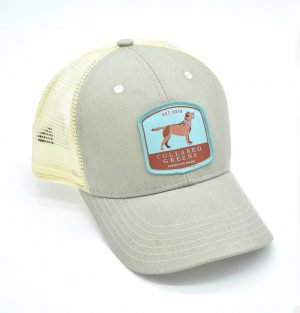 Chocolate Lab: Trucker Cap - Cattail