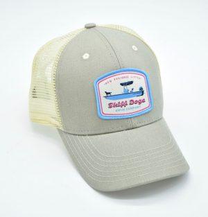 Skiff Dogs Logo: Trucker Cap - Cattail