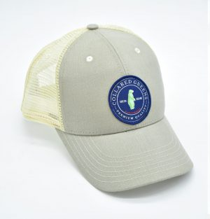 CG Logo: Trucker Cap - Cattail