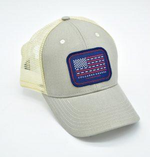 Trout Flag: Trucker Cap - Cattail