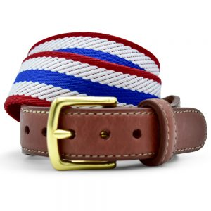 Dockside: Belt - Blue/White/Red