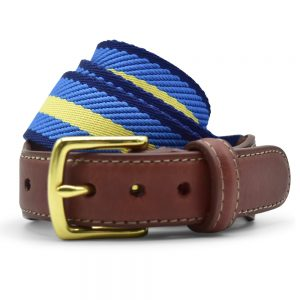 Dockside: Belt - Gold/Light Blue/Blue