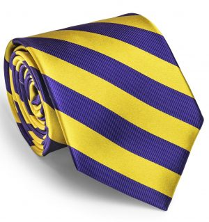 Dulles: Tie - Gold/Purple