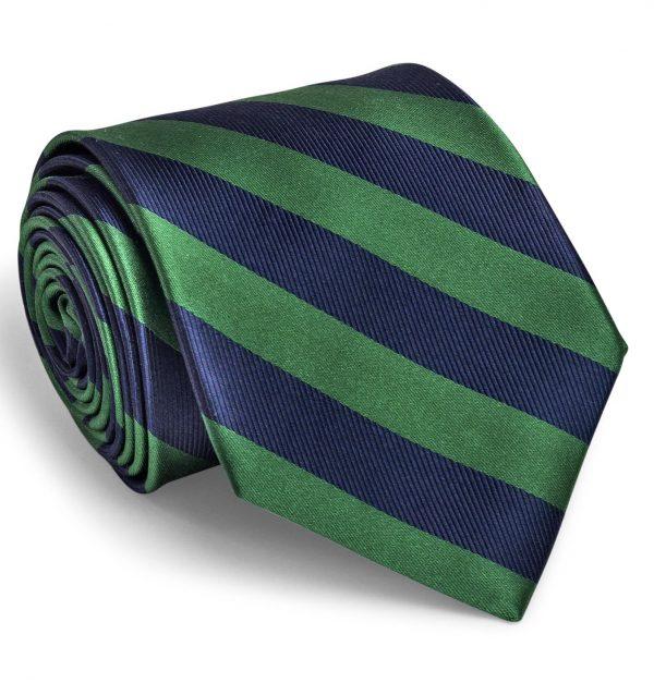 Dulles: Tie - Green/Navy
